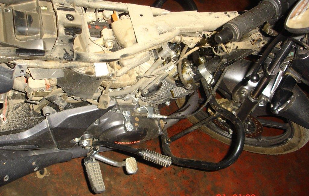 Strange Engine Problem Temporally Solved Honda Unicorn 150