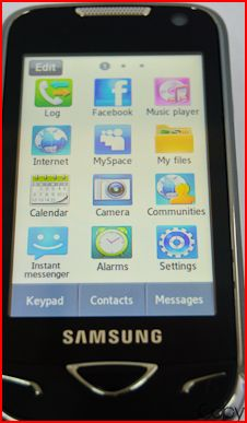 Excellent Choice: Samsung Duos GT-B7722 Mobile - SAMSUNG