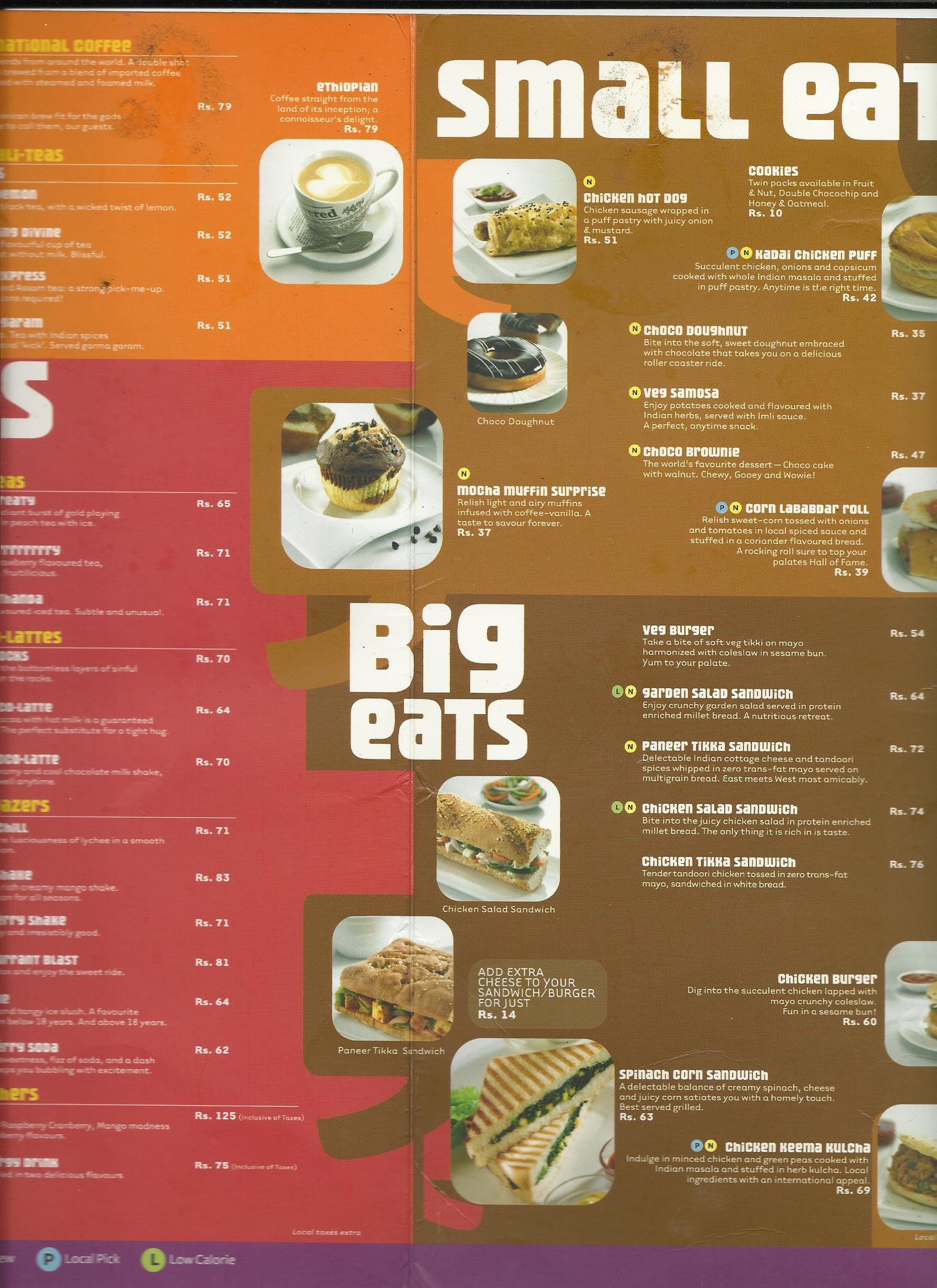 CAFE COFFEE DAY Review, CAFE COFFEE DAY India, CAFE COFFEE ...
