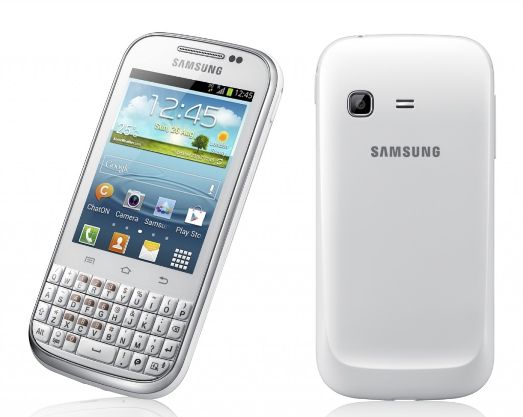 best touch n type android phone   samsung galaxy chat