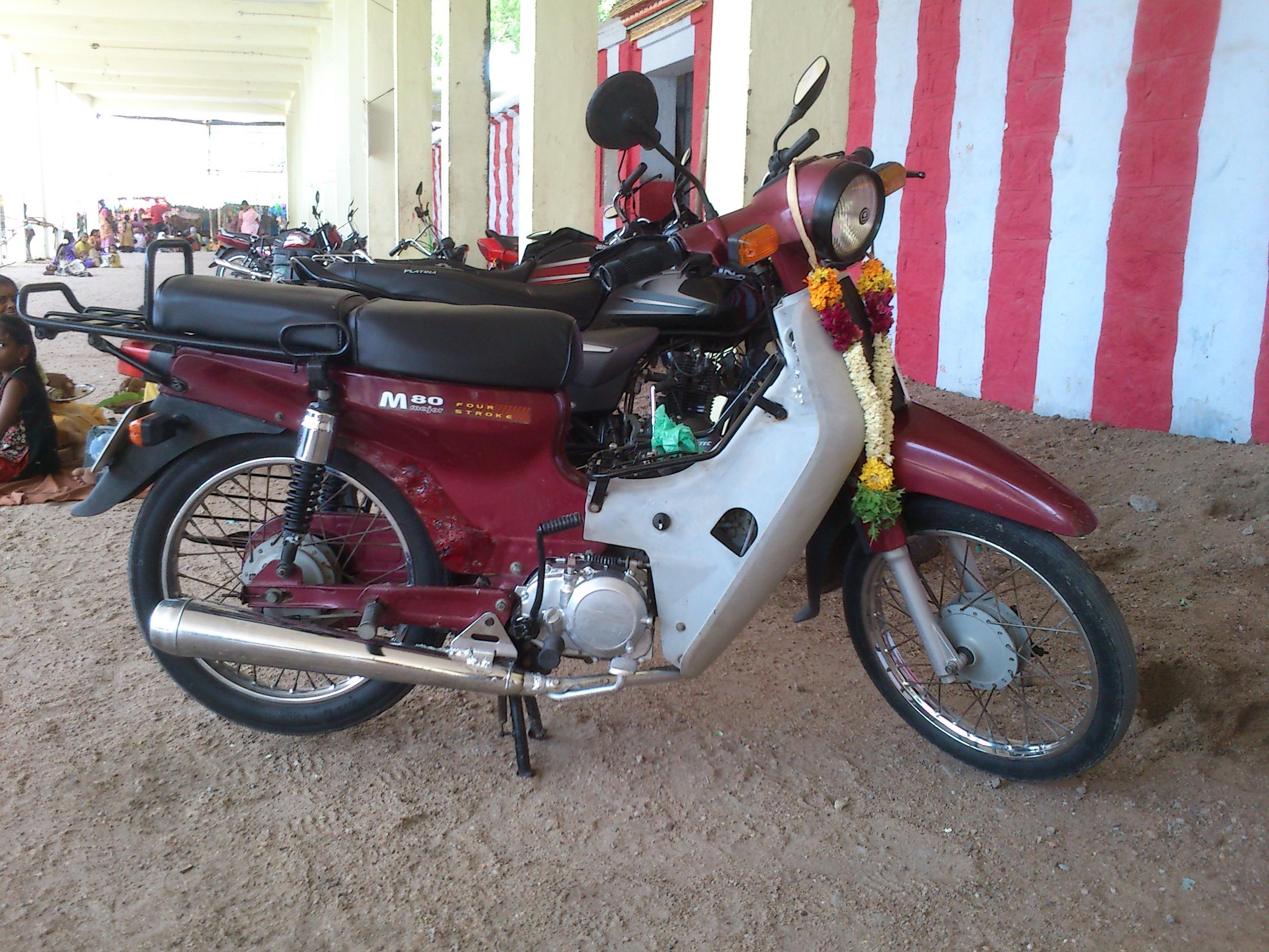 Nice bike . - BAJAJ M80 Customer Review - MouthShut.com