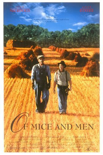 an analysis of the two major characters in john steinbecks of mice and men Loneliness: of mice and men- steinbecks  john steinbecks novel, of mice and men,  dreams and inequality are major themes in john steinbeck's.