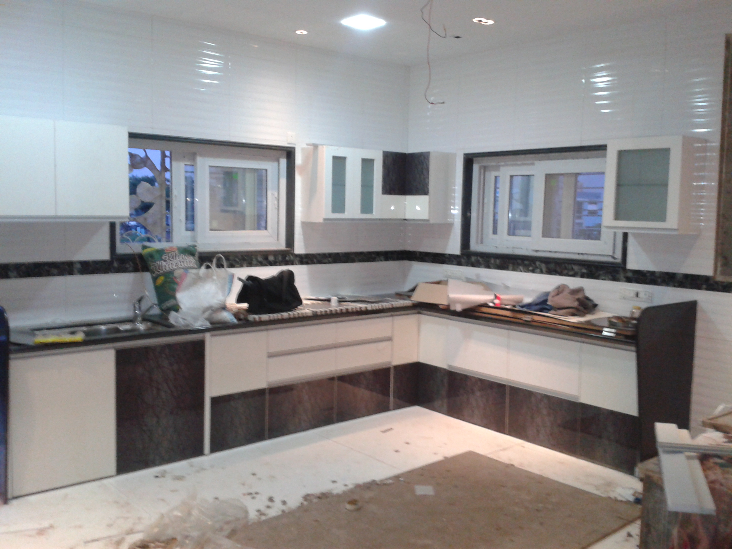 creative and very polite people shirke 39 s kitchen interior pune consumer review. Black Bedroom Furniture Sets. Home Design Ideas
