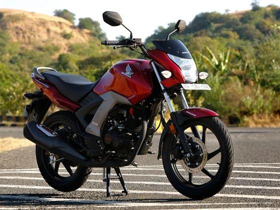 Powerful and attractive bike Honda Unicorn 150 cc - HONDA ...