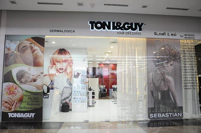 Get real luxurious style from toni guy toni and guy for Page 3 salon chennai