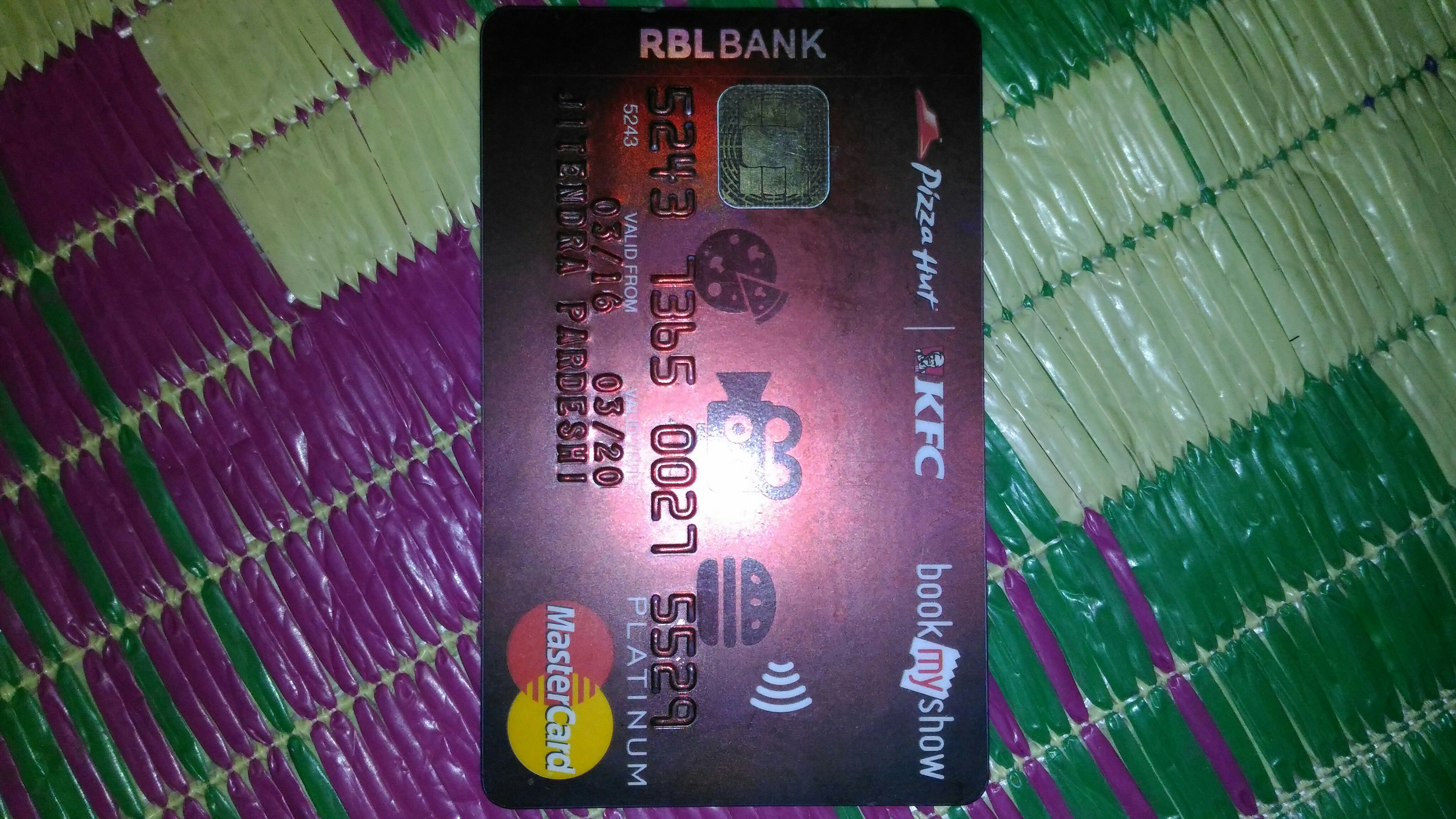 RBL Bank Credit Card Review 2017 : Apply online | Fintrakk