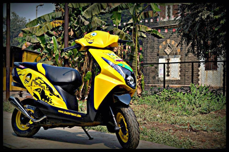 modern review on honda dio honda dio customer review mouthshut comBike Stickers Design Honda Dio #20