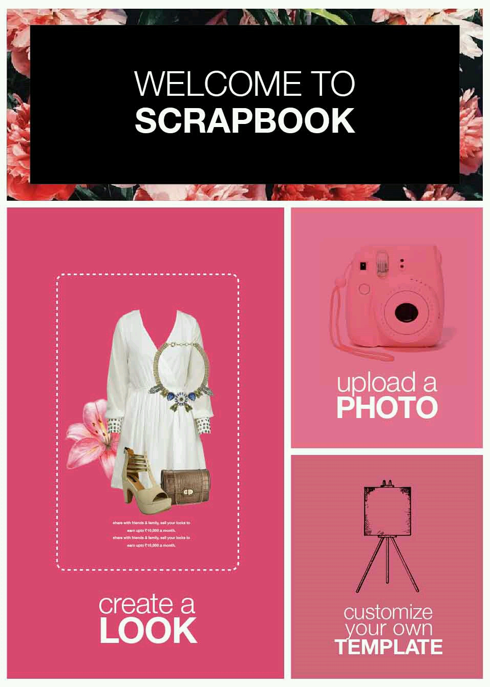 How to create scrapbook on limeroad - Likes