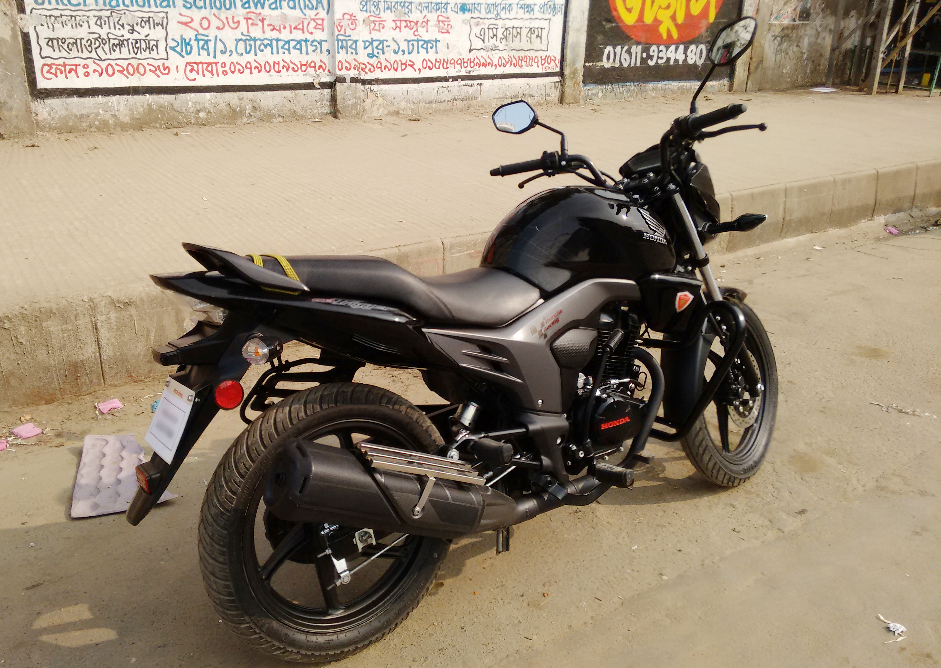 Honda CB Trigger Price Images Colours Mileage amp Reviews