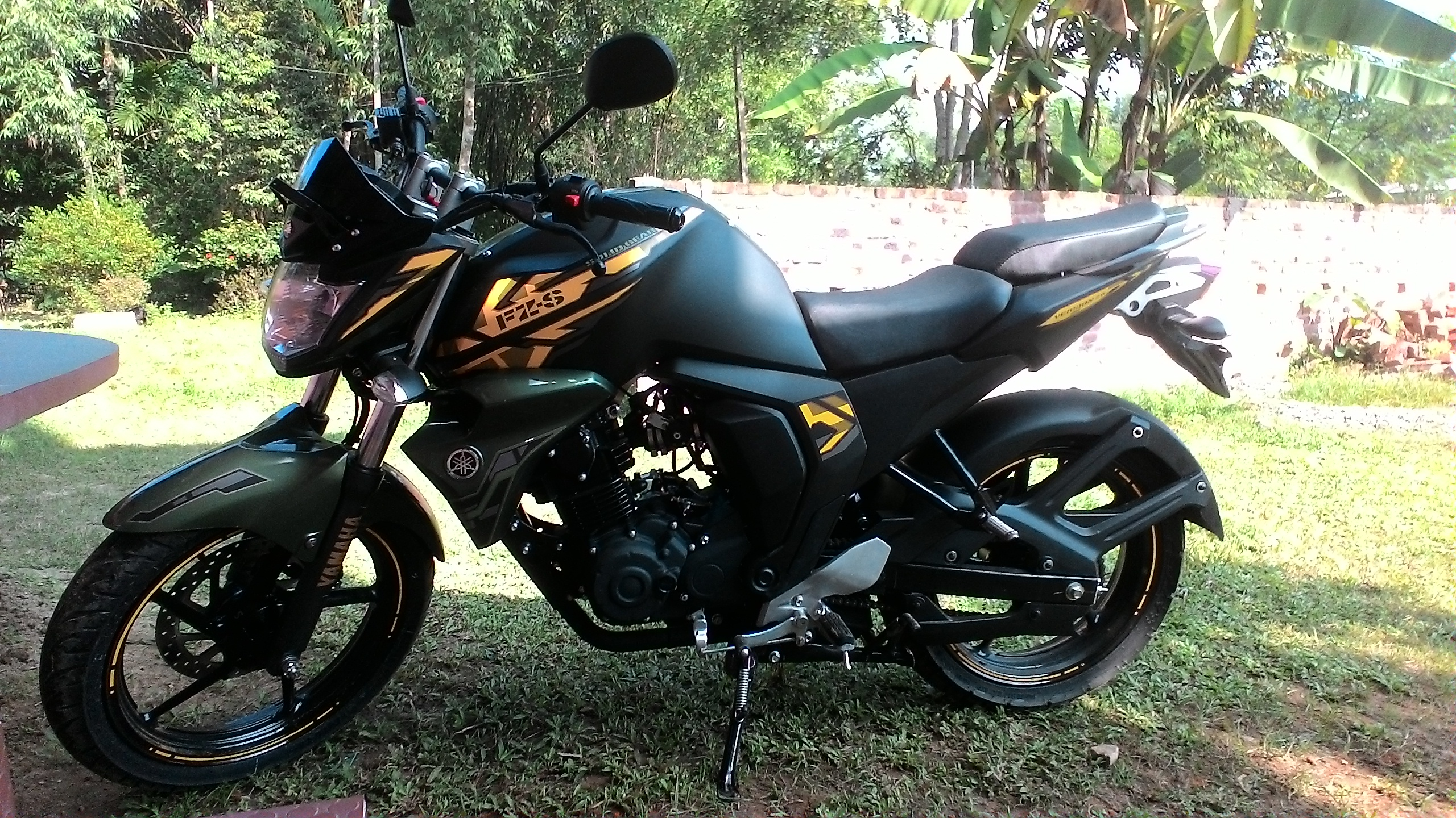 Yamaha Fz Fuel Consumption