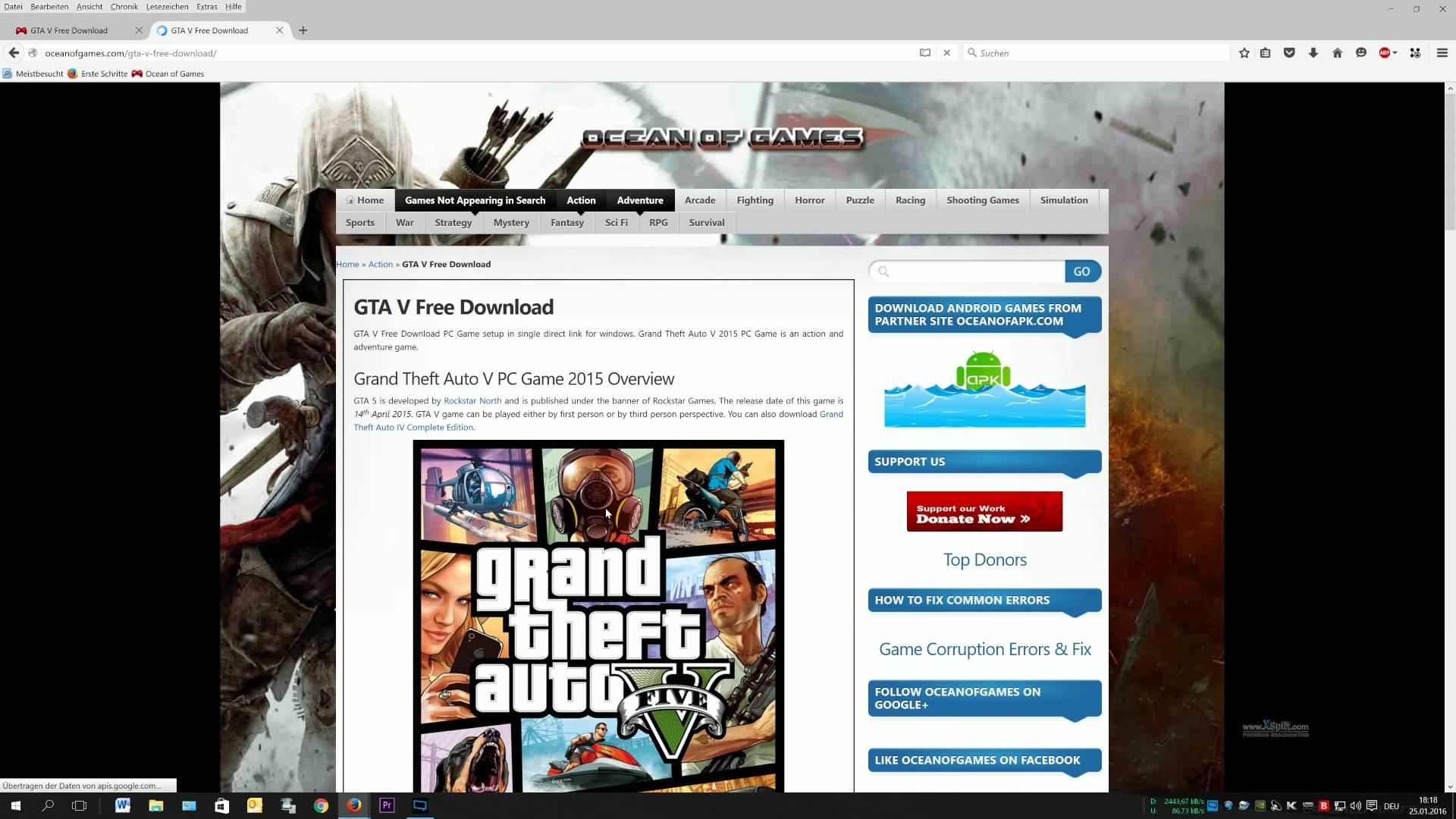 A very good site for gamers - OCEANOFGAMES COM Consumer