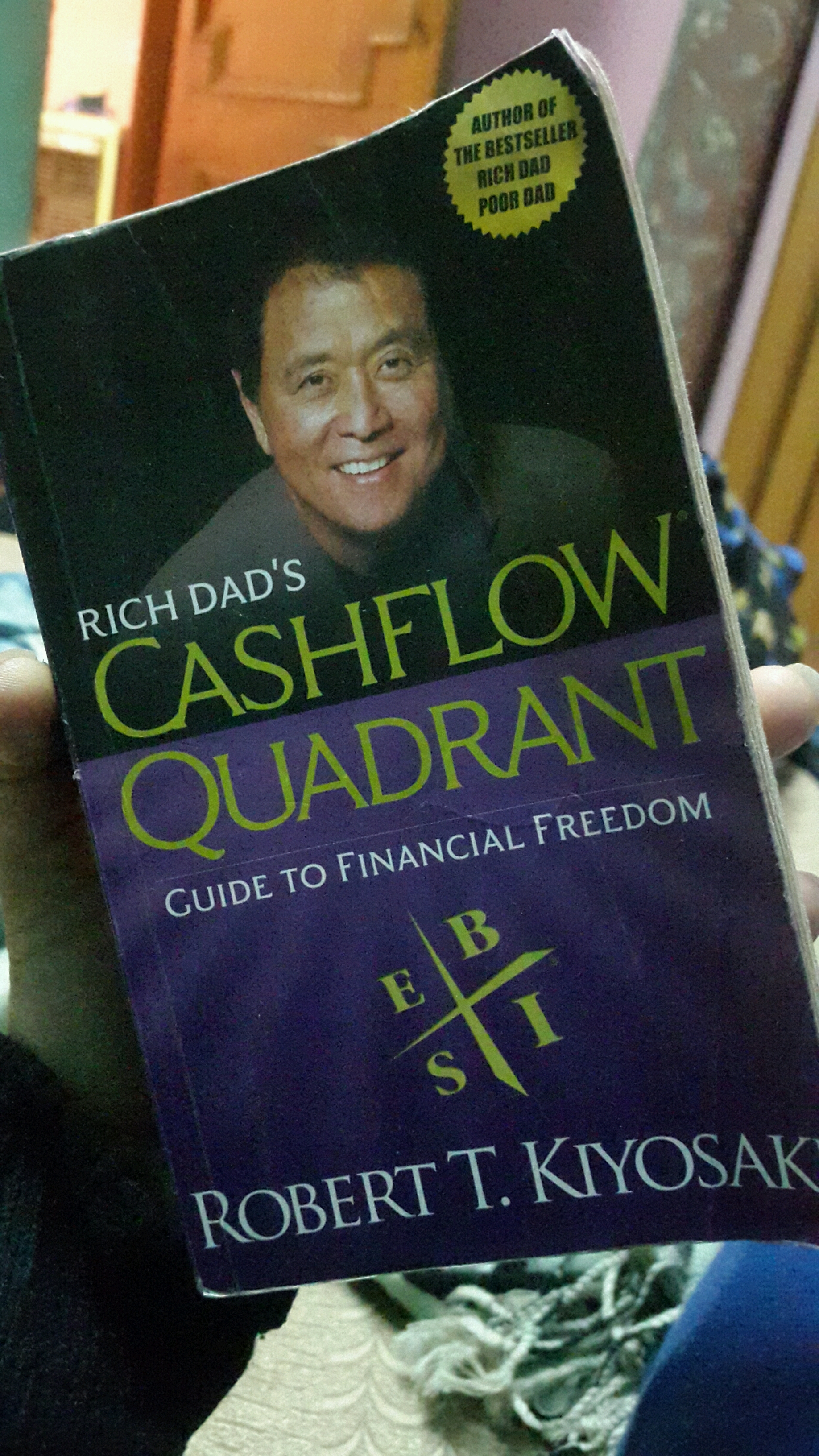 Way To Become Financially Free Rich Dad Poor Robert T Cashflow Quadrant 2 Buku Flag This Review