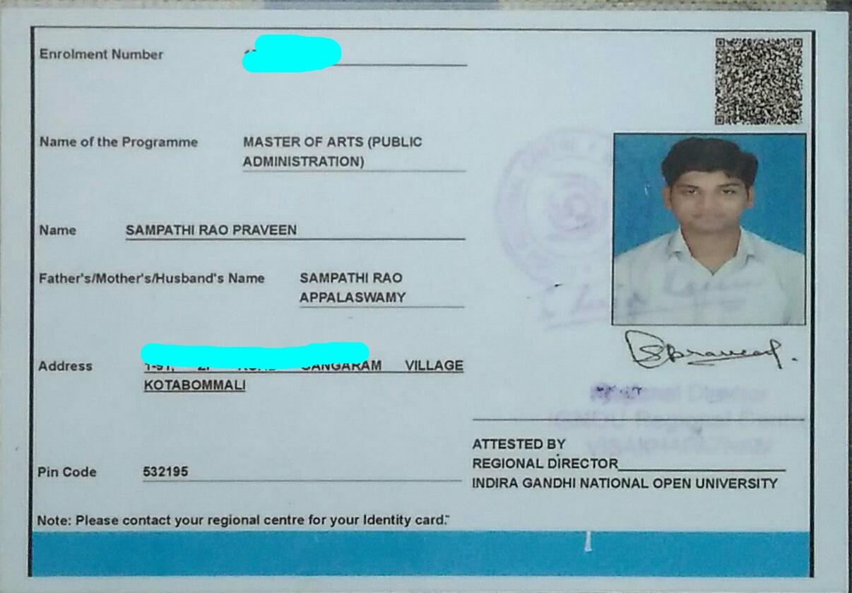 Ignou address in bangalore dating