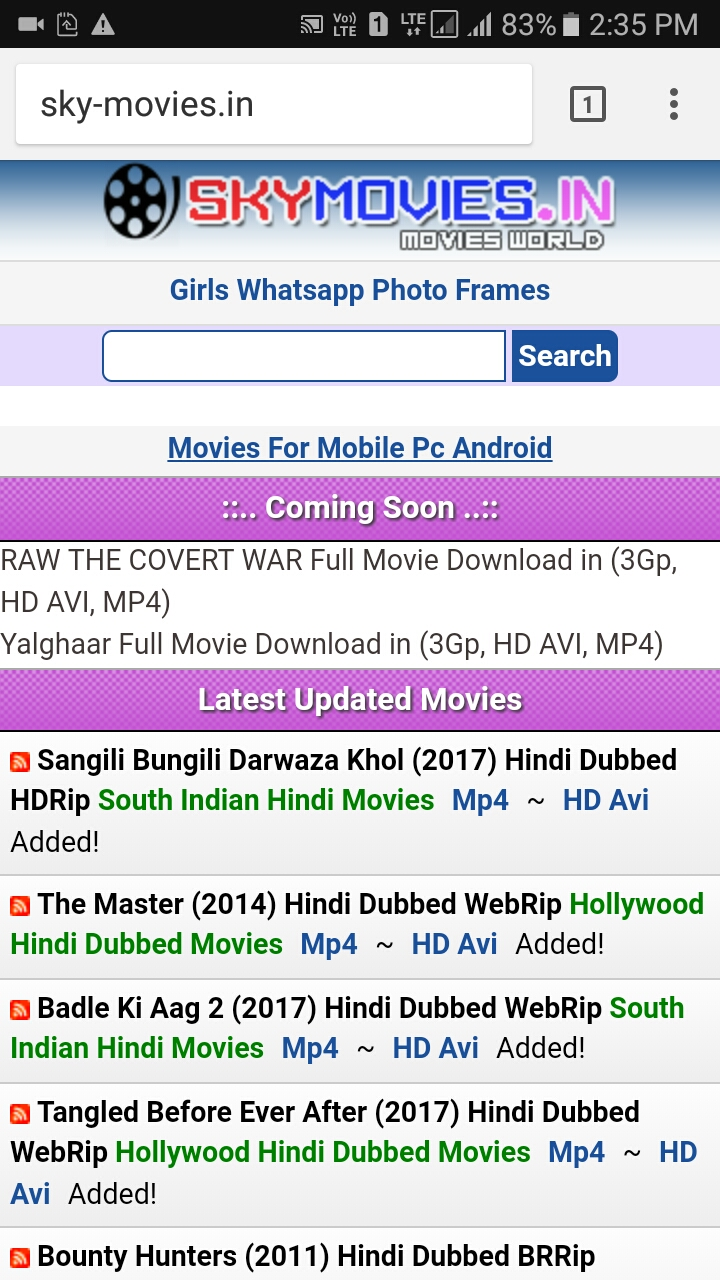 south movie download skymovie.in