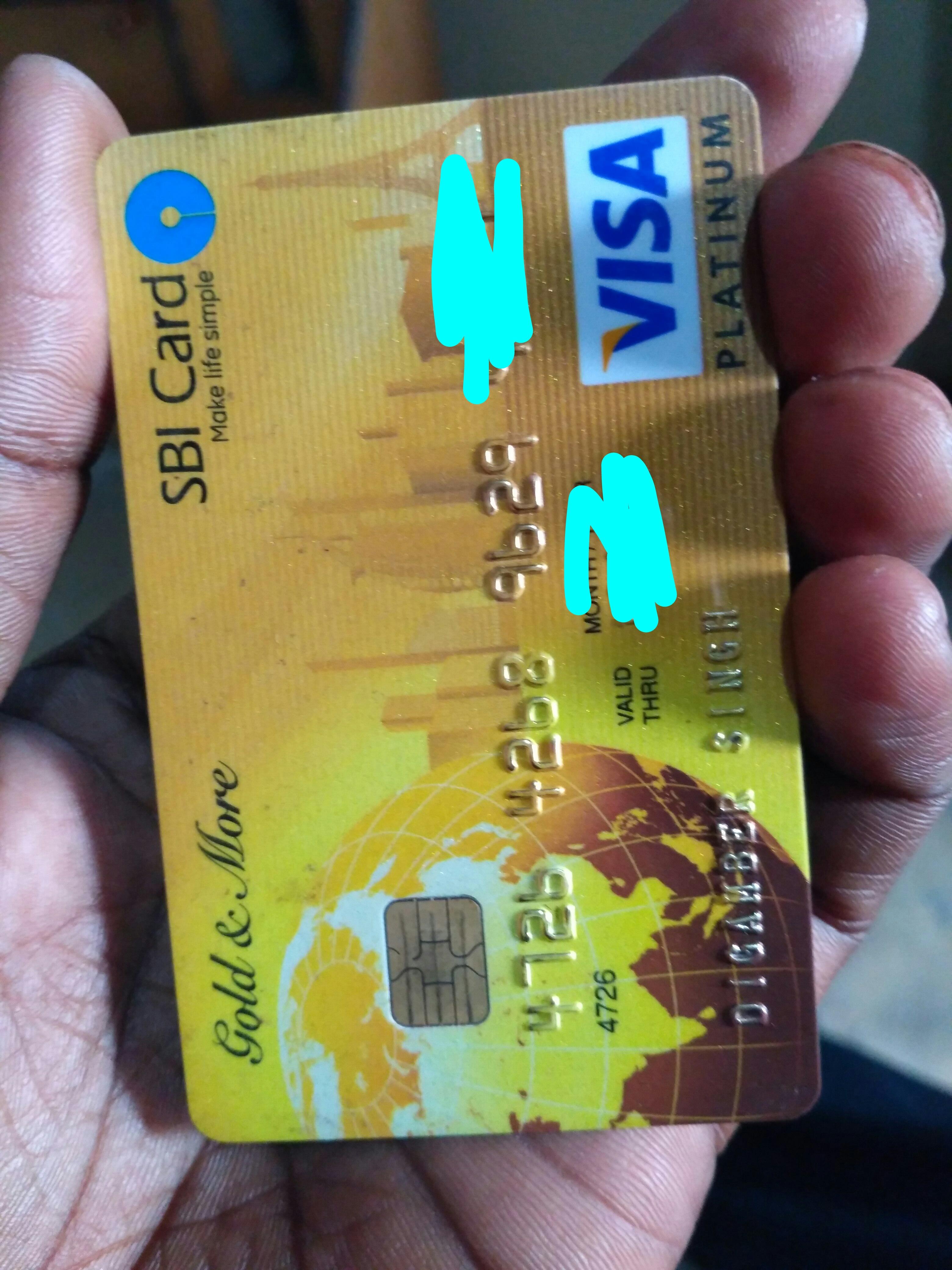Sbi gold more credit card review