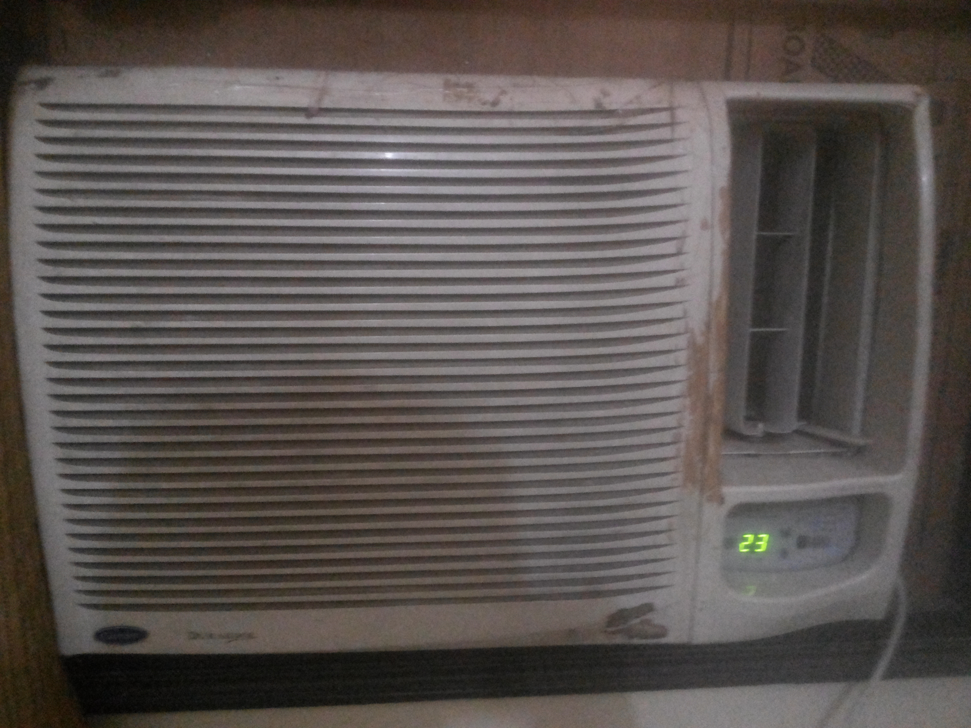 Compressor is not so good carrier durakool plus 1 5 ton for 1 5 window ac
