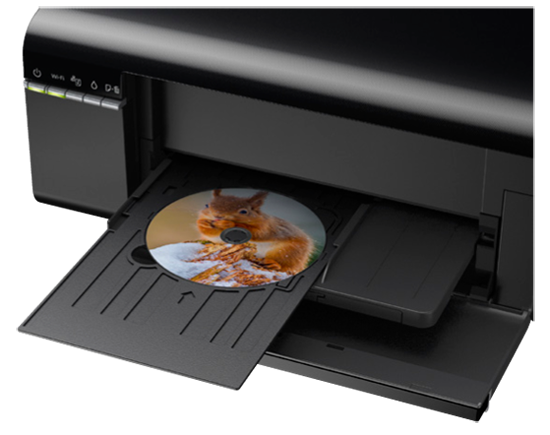 6 Color Printer With Dvd Pvc Card Printing Epson L805 Multi