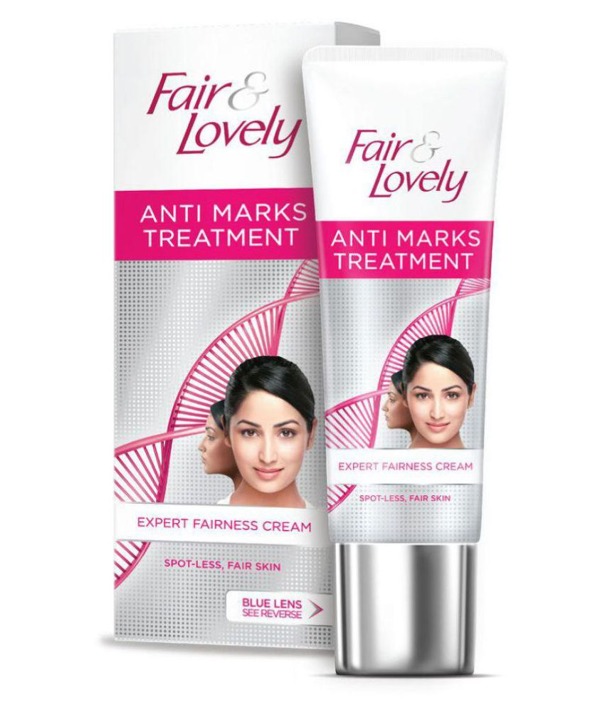 how to use fair and lovely cream