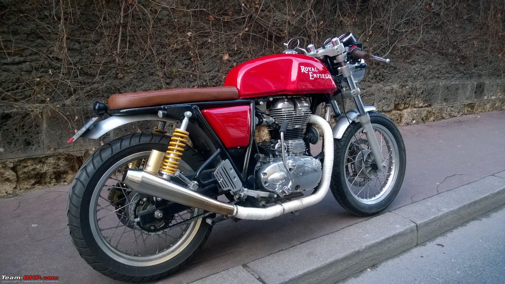 Sitting position could be better | - ROYAL ENFIELD CONTINENTAL GT