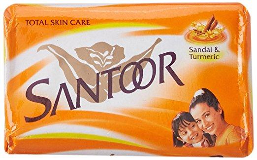 Santoor Sandal And Turmeric Soap Review Santoor Sandal