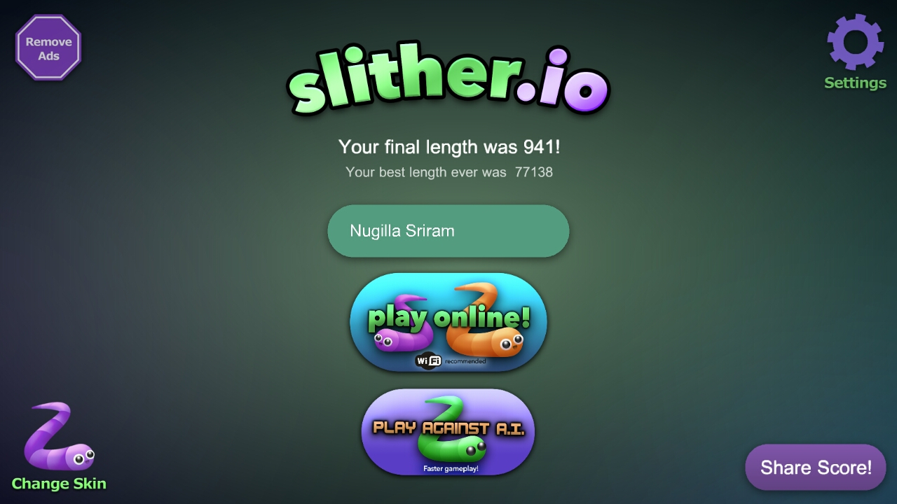 Read Consumer Reviews For >> Slither.io it's a good game to play - SLITHER.IO Consumer Review - MouthShut.com