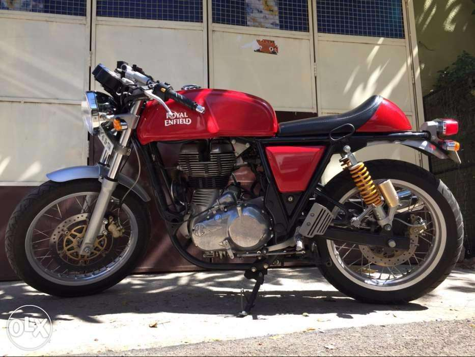 A motorcycle for the select few !! - ROYAL ENFIELD CONTINENTAL GT