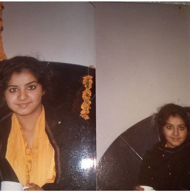 Fan Of Divya Bharti And Friends With Her Cousin Divya Bharti