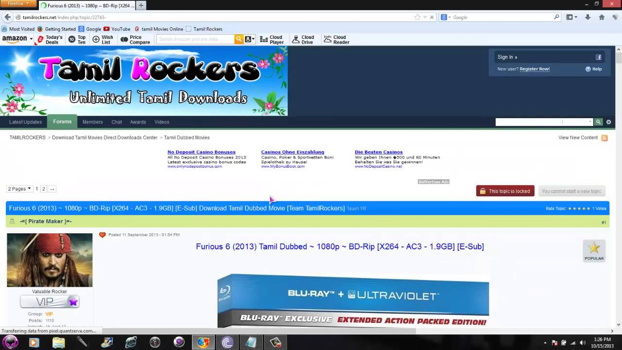 tamilrockers 2013 tamil full movie download