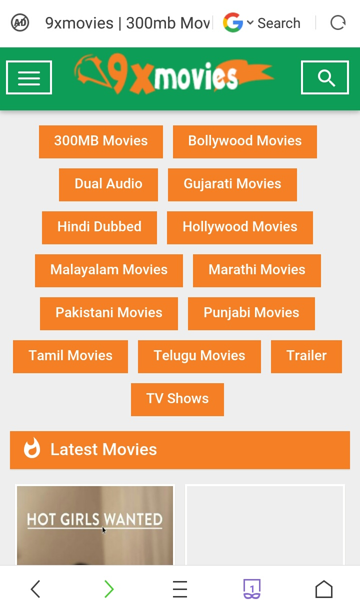 Wow! Amazing site for downloading movies  - 9XMOVIES TO Consumer