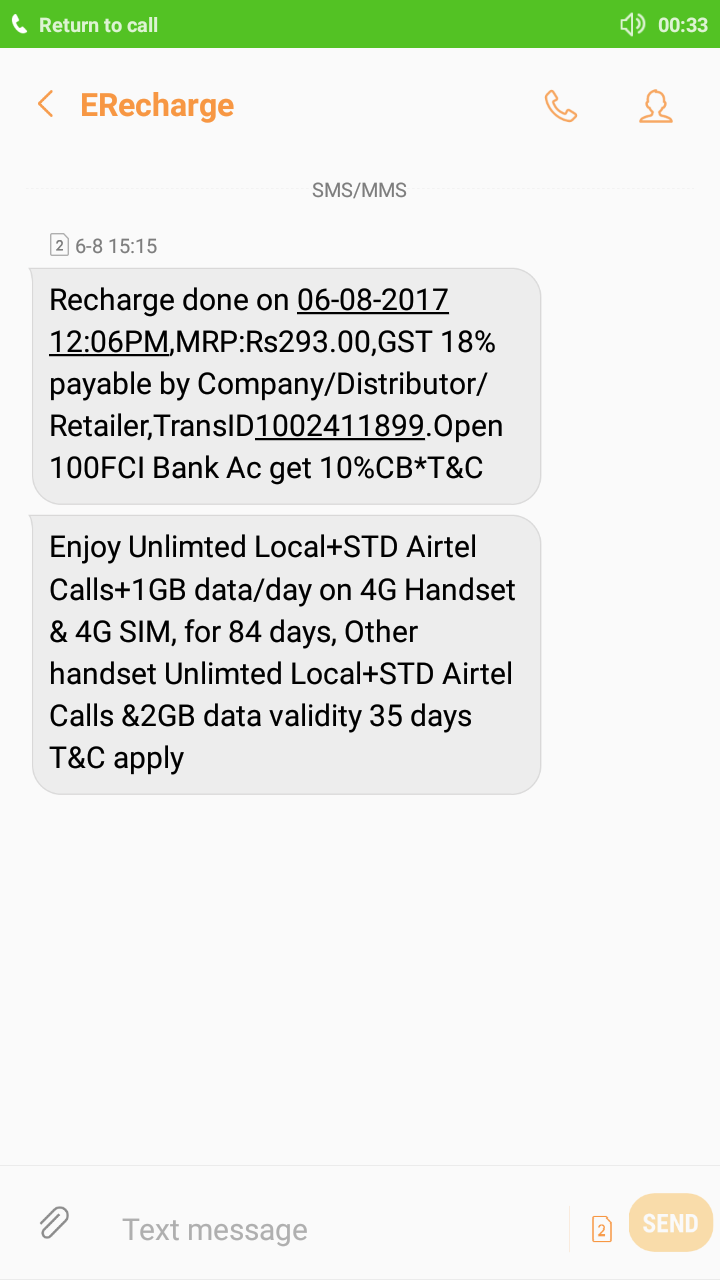 AIRTEL MONEY Review, AIRTEL MONEY Price, India, Service, Customer