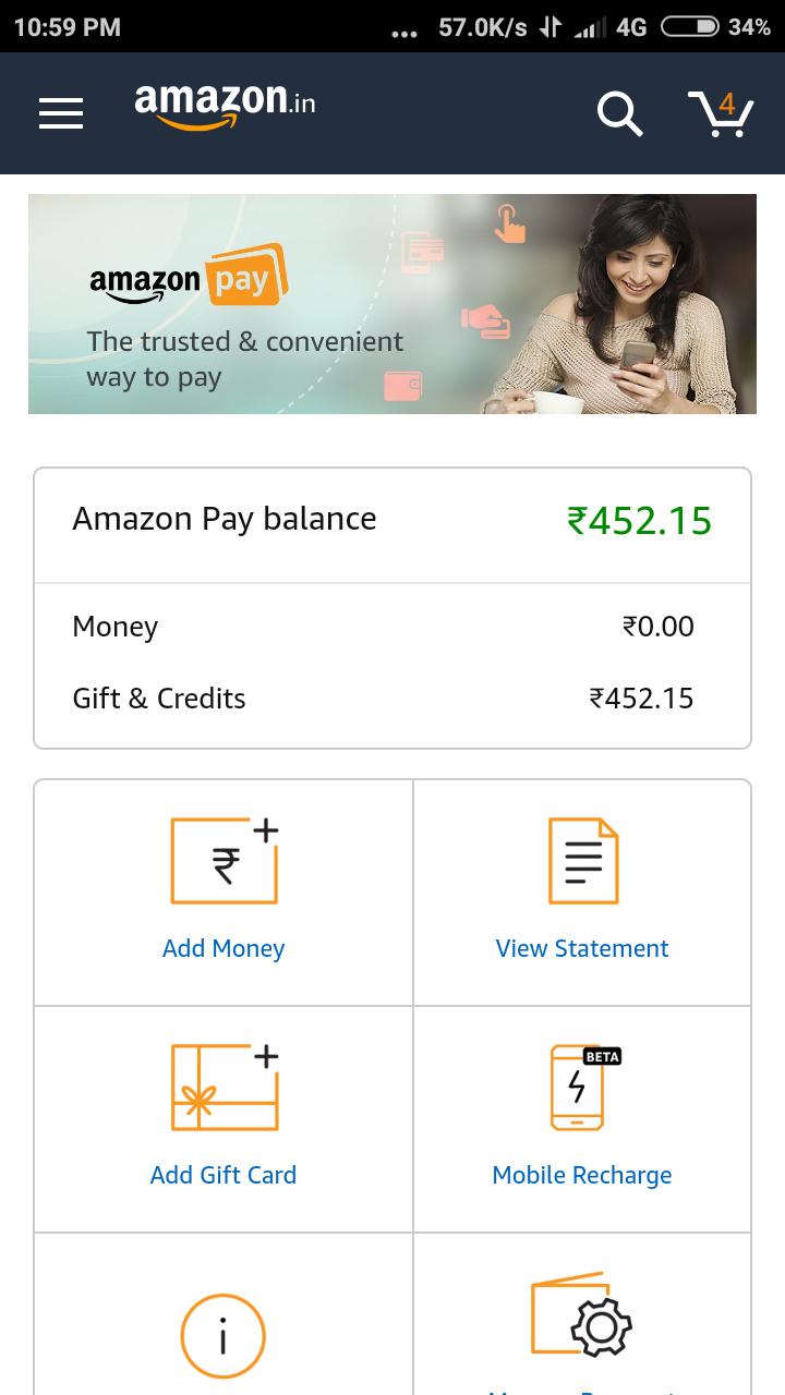 amazon india shopping app