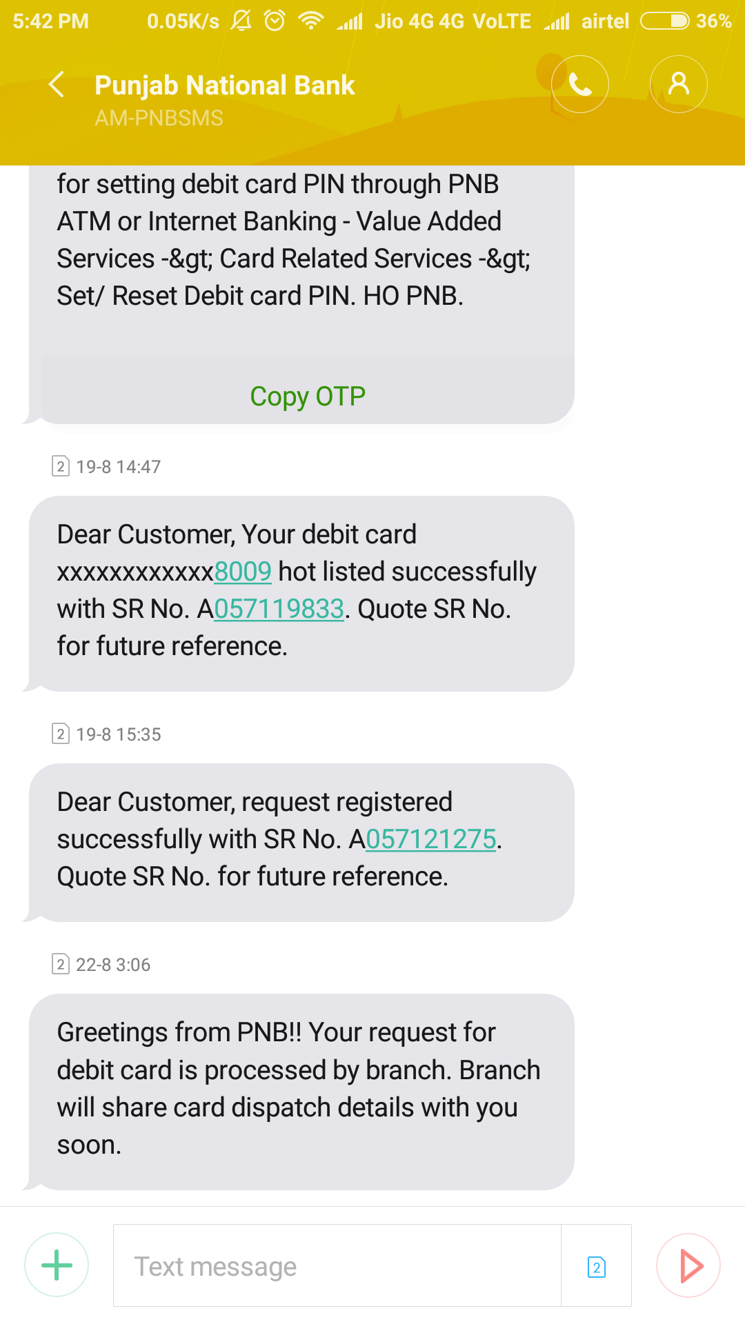 OTP Bank: customer reviews 76