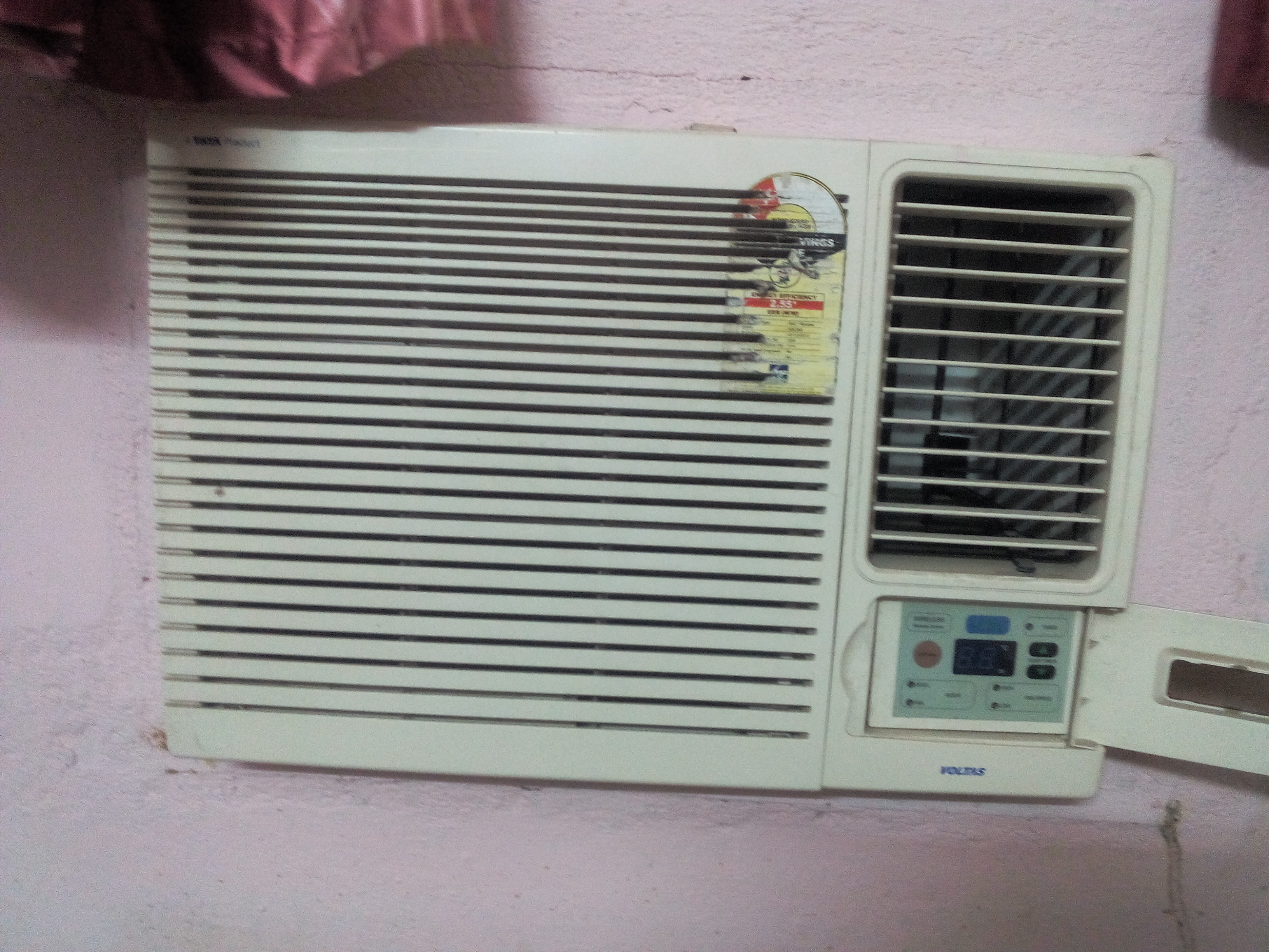 Super cooling voltas 123 ly 1 ton 3 star window ac for 1 ton window ac
