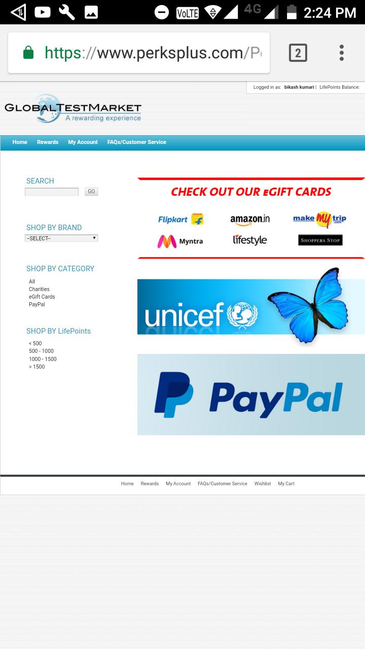 Best paid surveys site - GLOBALTESTMARKET COM Consumer