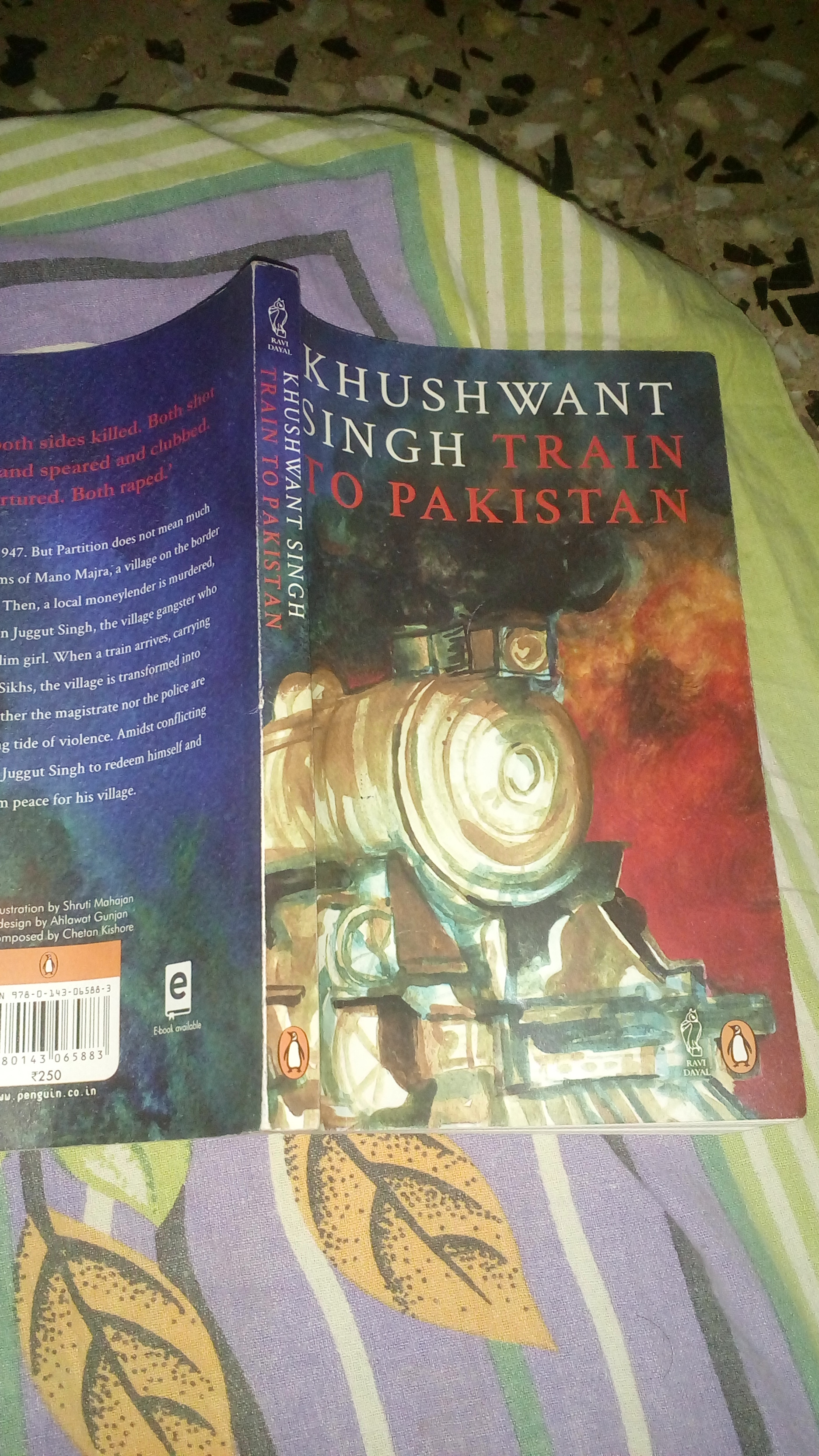 Train To Pakistan By Khushwant Singh Ebook