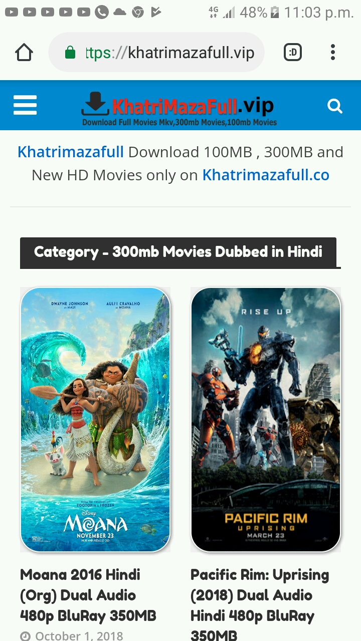 Most Free Movies Download site - KHATRIMAZA ORG Consumer Review