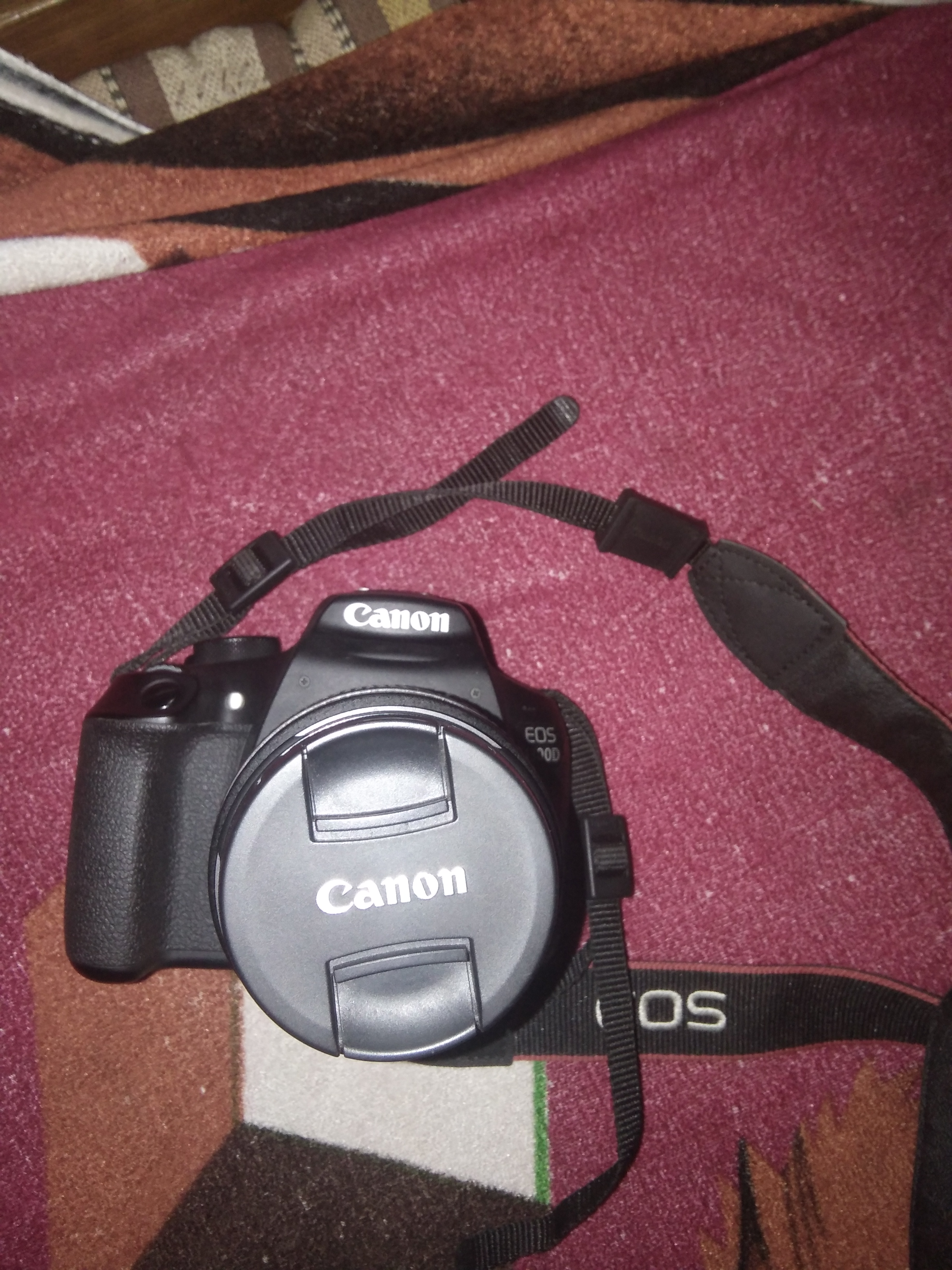 About Canon 1300 D Camera Eos 1300d Kit Ef S 18 55 Is Ii Digital With Lens 55mm Was Very Clear Abd So Much Blur And I Happy Better Useful Feature Than Nikon The Price Not Bad Good