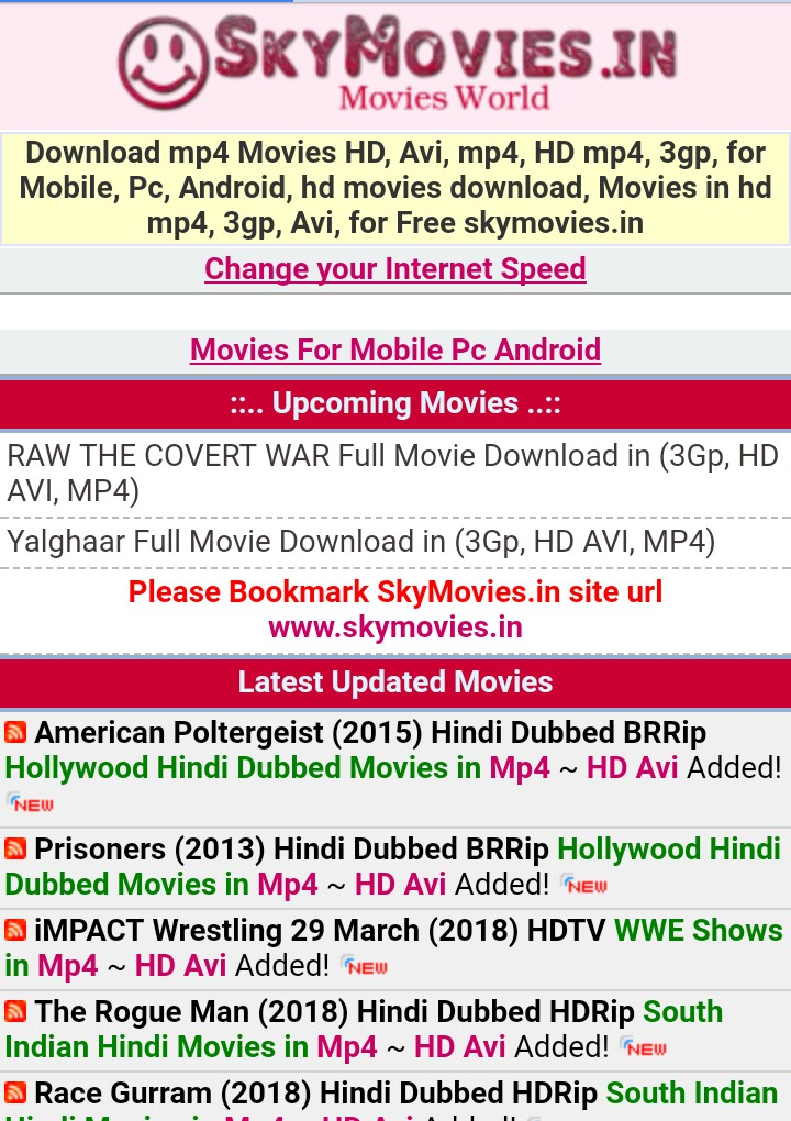 3gp south indian mobile movie in hindi free download