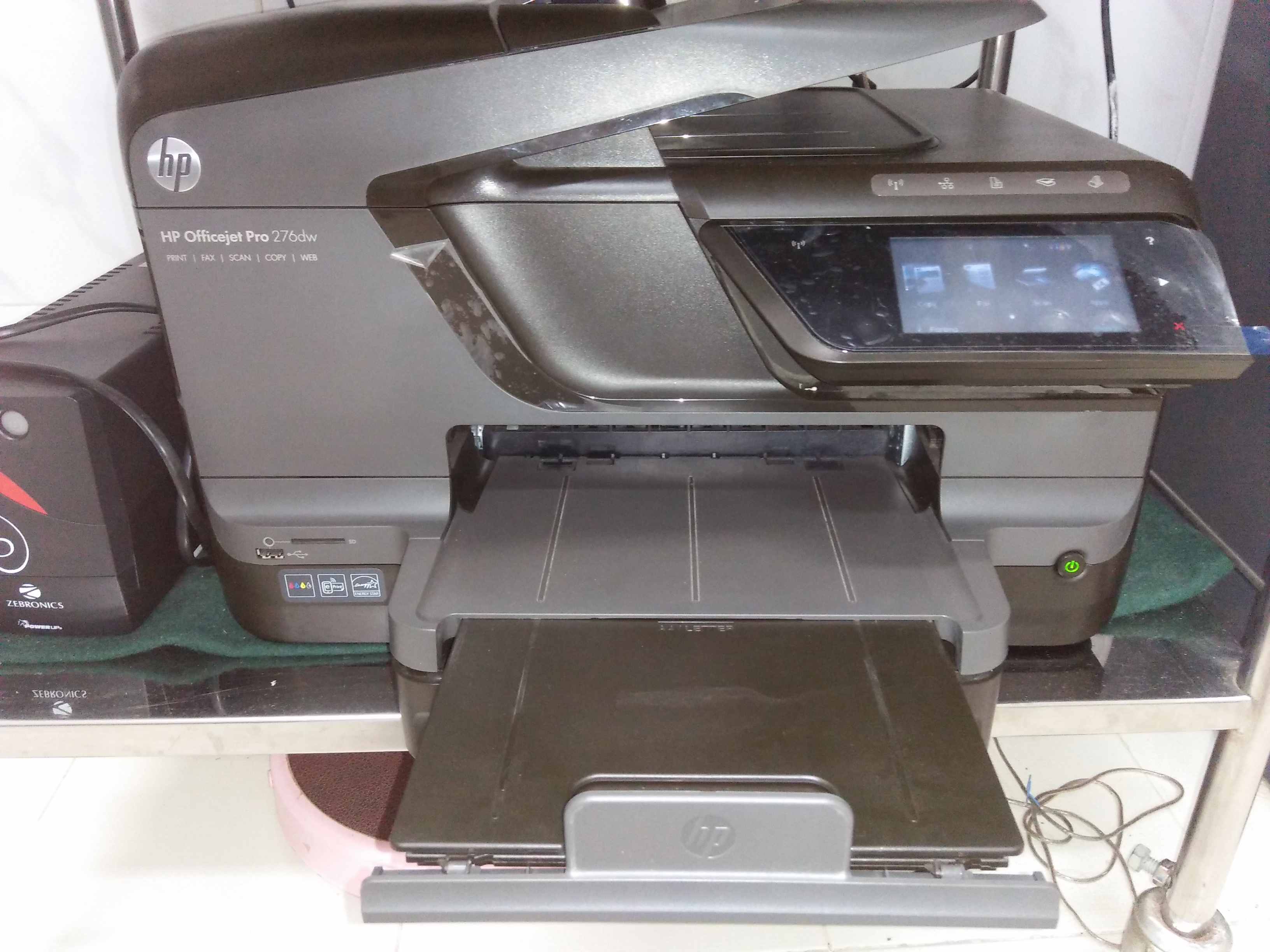 Hp Office Jet Pro 276dw Wi Fi All In One Officejet 7110 Printer Print Web Wifi But Every On Can Use Only A4 Size Paper For Printing And Colour Xerox You Operate It With Your Get A Easily