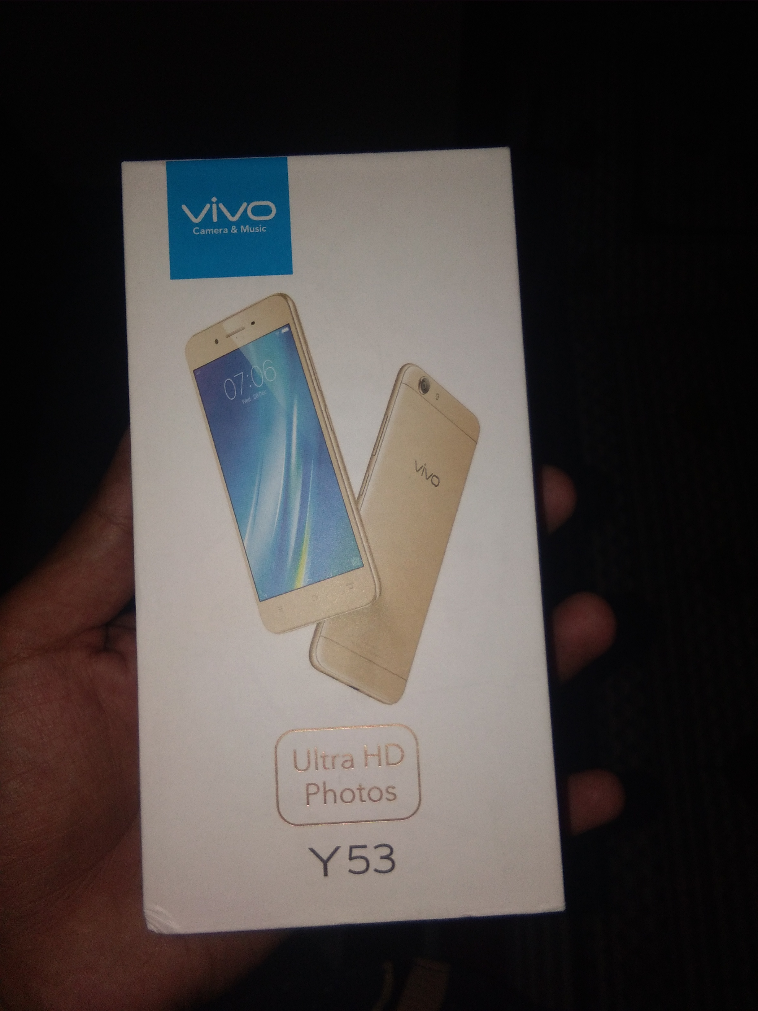 Nice and lite weight smartphone - VIVO Y53 User Review - MouthShut com