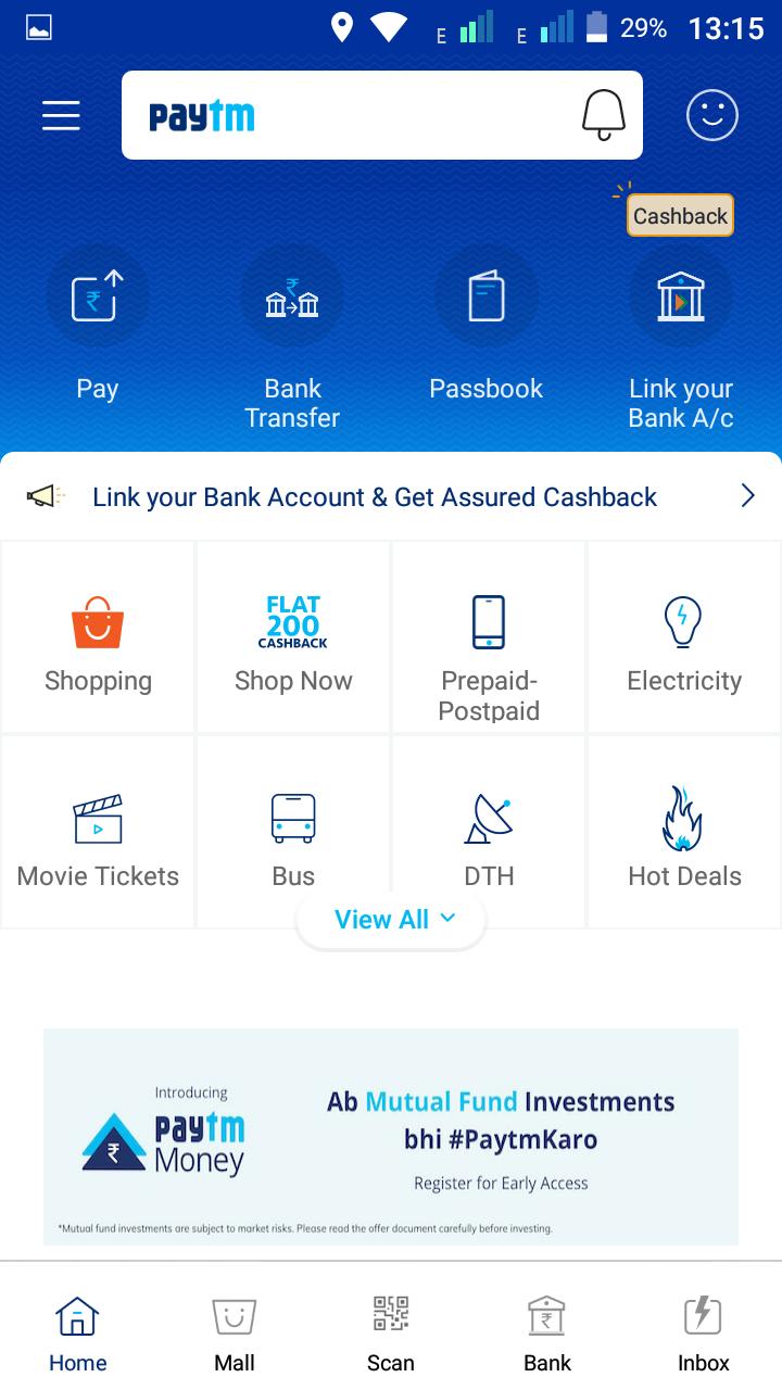 Paytm gives profitable offers to paytm coustomer - PAYTM COM