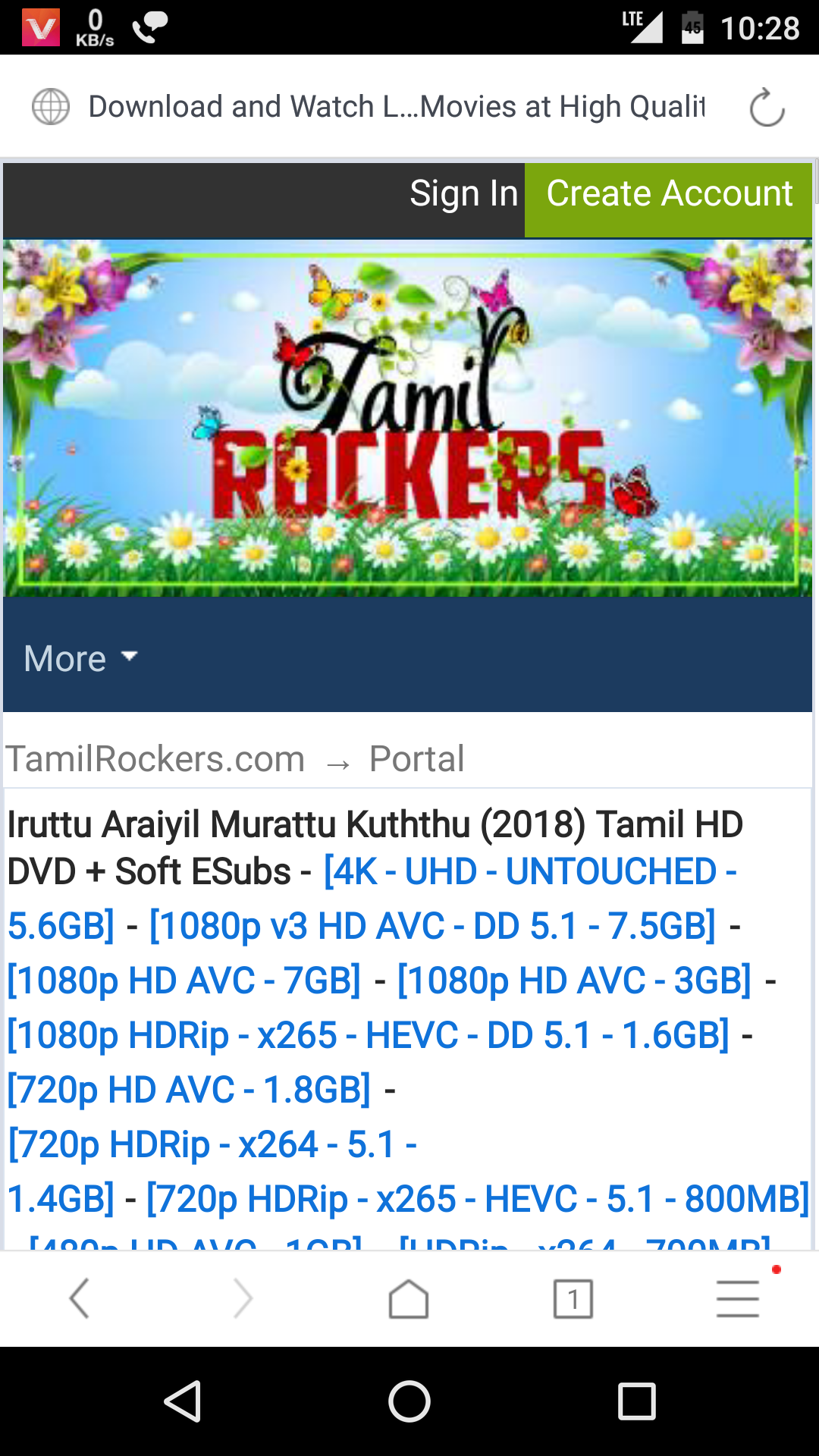 Rockers are fast - TAMILROCKERS CO Consumer Review - MouthShut com