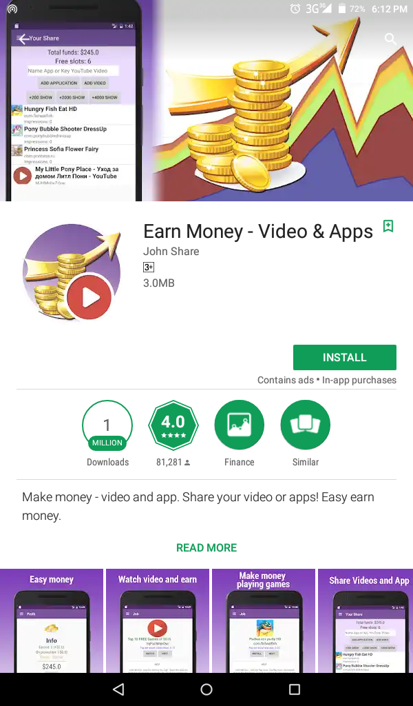 Easy Money App
