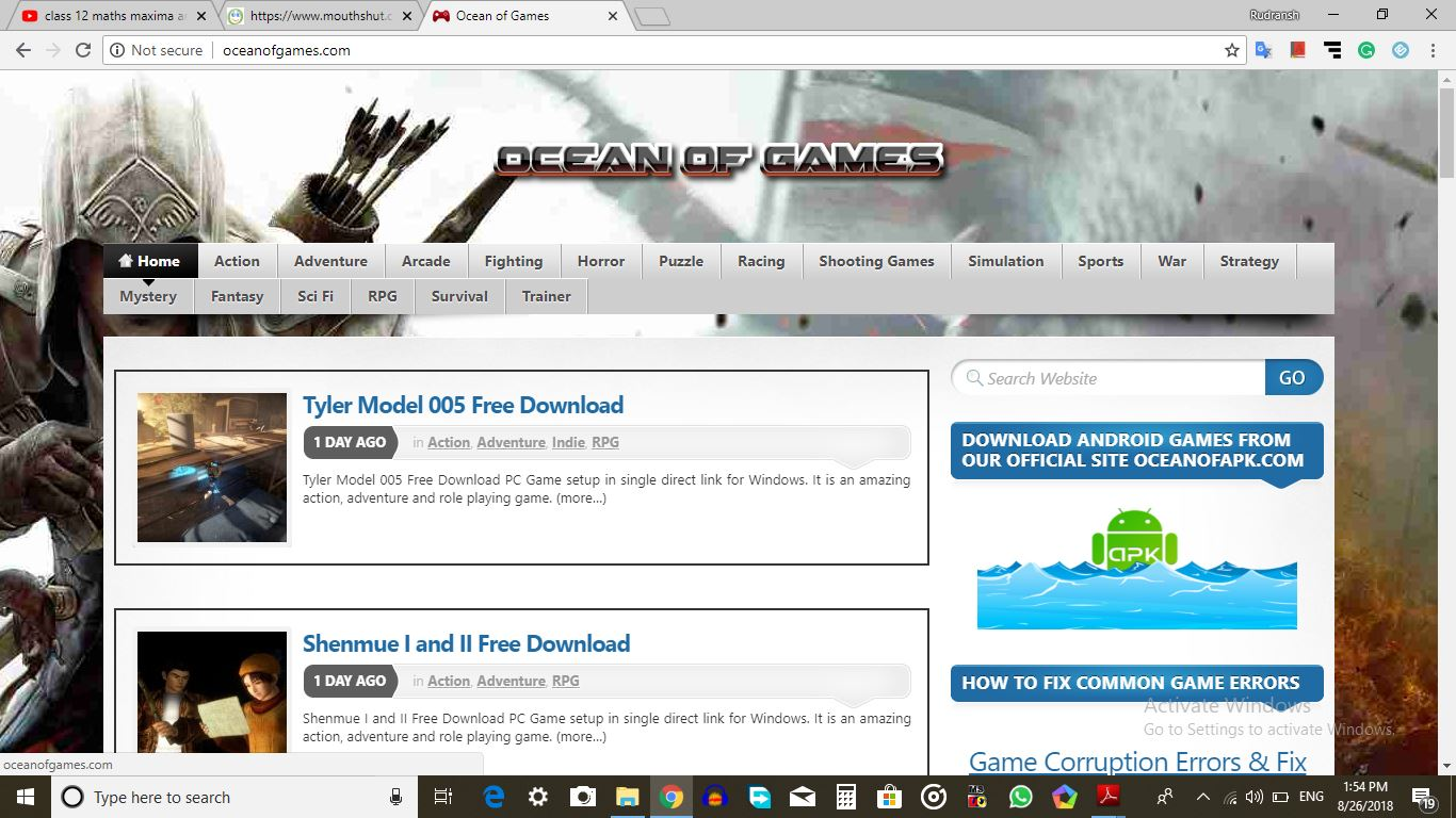 Download Any PC Game For Free - OCEANOFGAMES COM Consumer Review