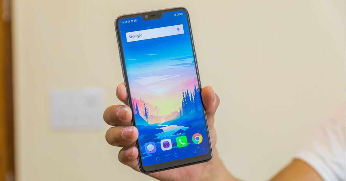 Awesome Phone - OPPO F7 SUNRISE RED User Review - MouthShut com