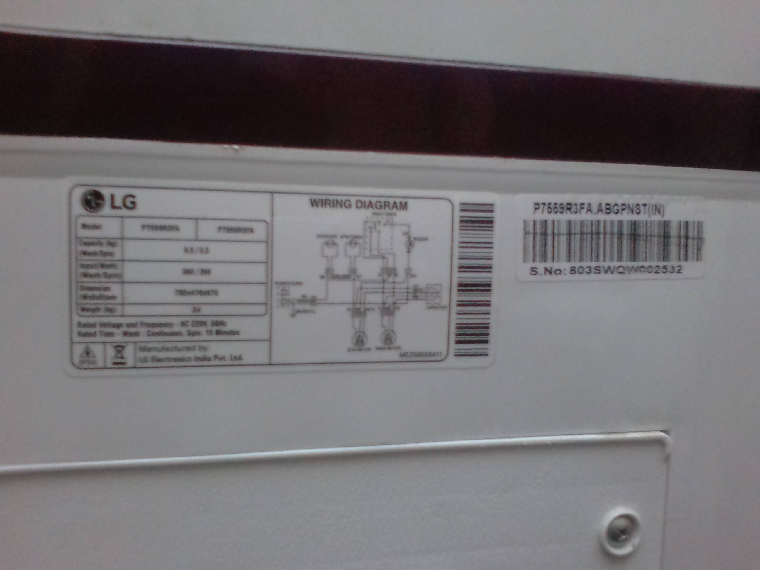 Lg Top Load Washing Machine Wiring Diagram Diagrams And Godrej Fully Automatic View Images How To Repair A Water Inlet Valve
