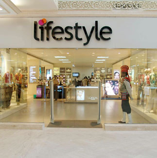 Lifestyle the store which appeals to many but for some time only