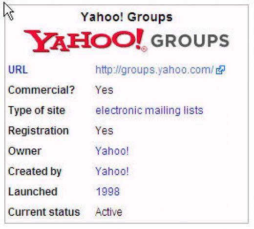 Yahoo groups directory homework help