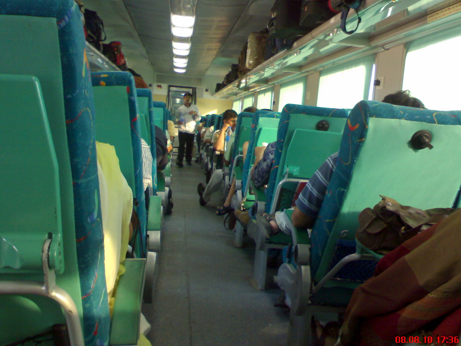 New Delhi-Kalka Shatabdi Shatabdi Express Executive Class