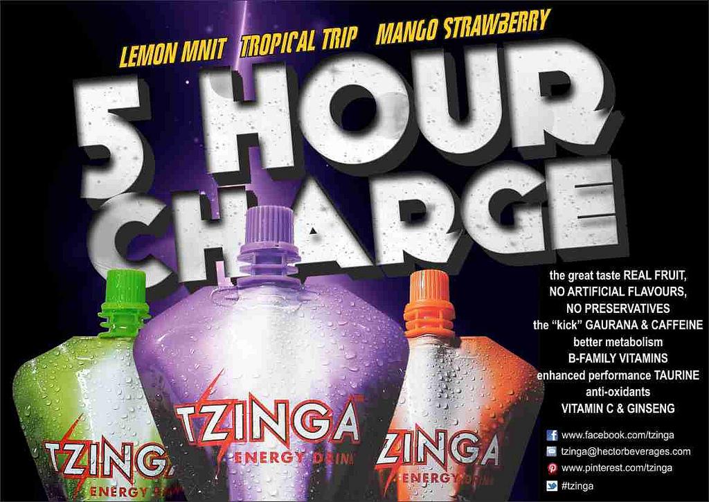 Tzinga Energy Drink India
